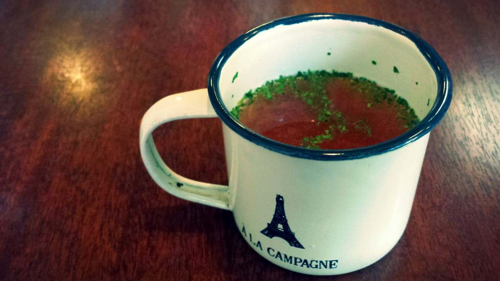キネマカフェのスープ