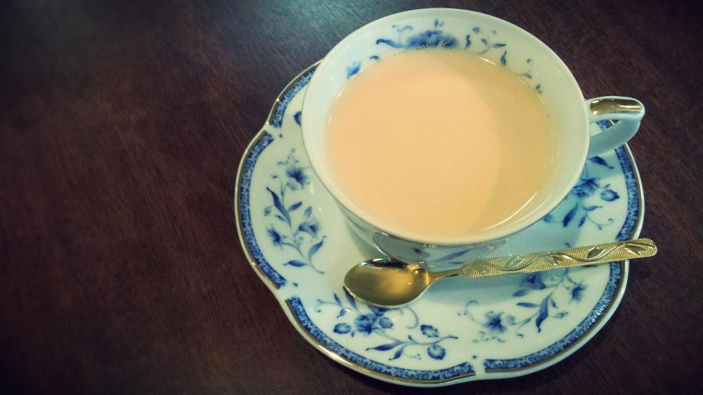 キネマカフェの紅茶