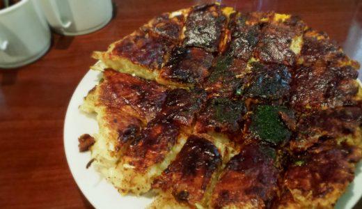 ふきやのお好み焼き「肉玉」は博多のソウルフード!特製ソースとマヨネーズが決め手!|天神
