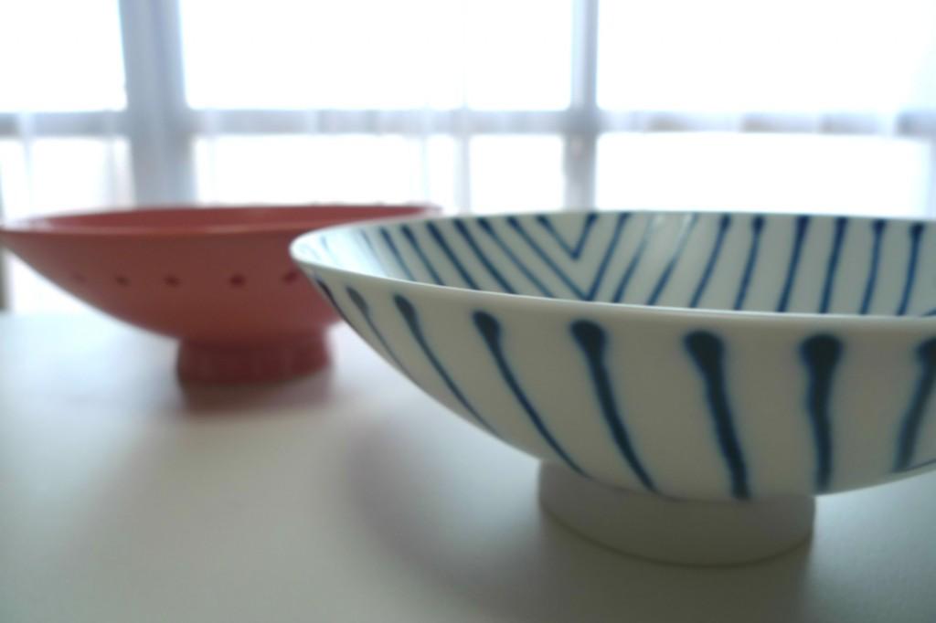 白山陶器の平茶碗