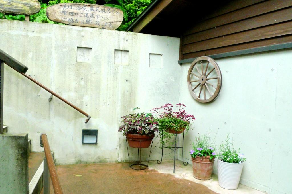 みのう山荘の階段