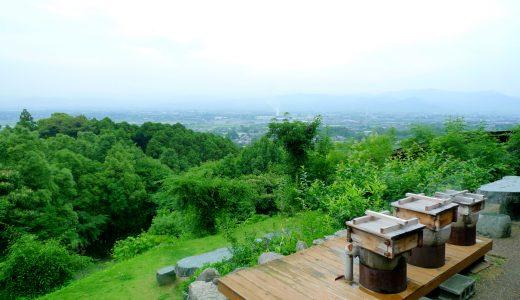 大人の隠れスポット『みのう山荘』。高台にある日帰り温泉とカフェが素敵な癒し空間!|田主丸