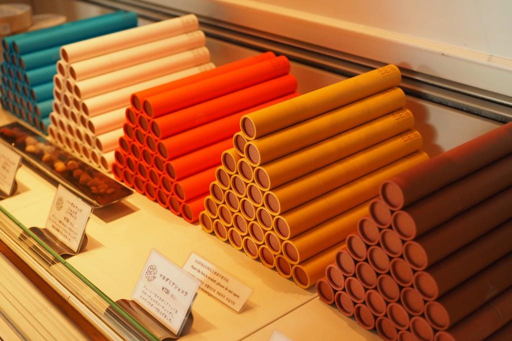 テオムラタのチョコレート