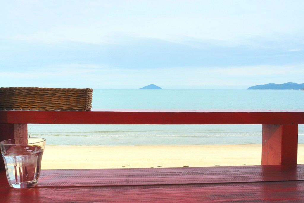 海を眺める特等席