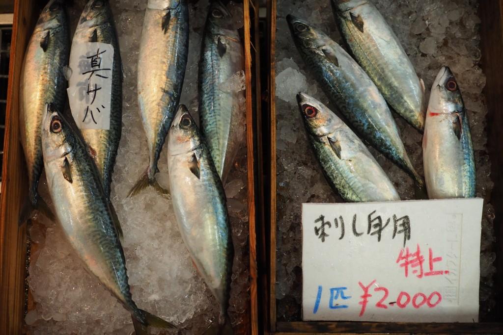 新鮮な魚が安く買える!
