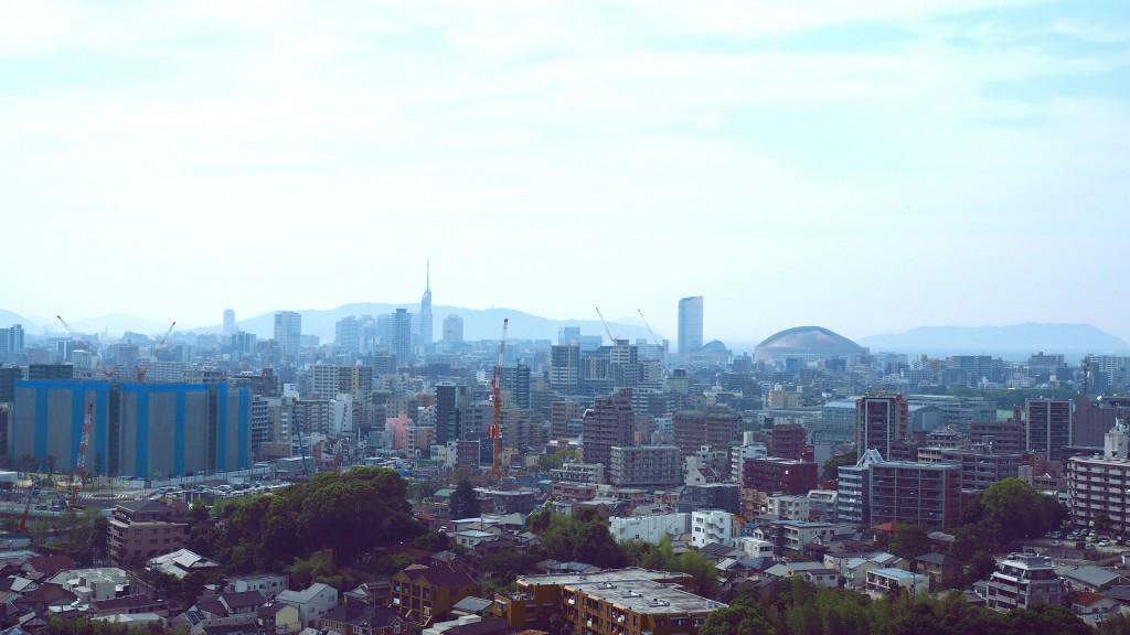 西展望台からの景色