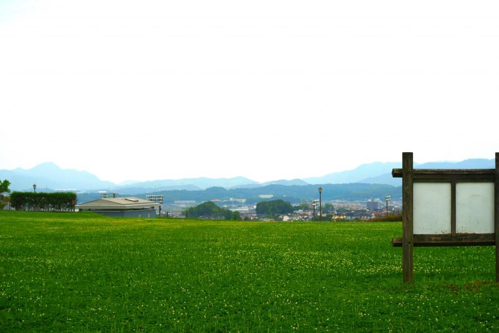 公園からの眺めも絶景