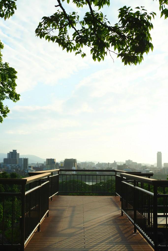 福岡城跡 天守台
