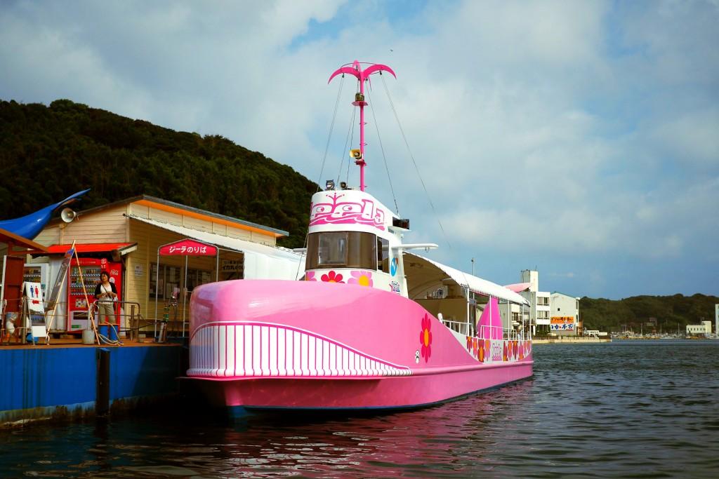 ピンクのジーラ