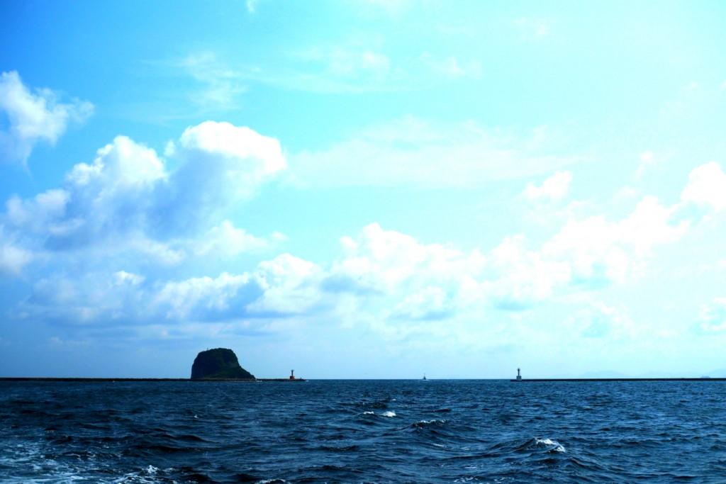 ジーラから見た海と空