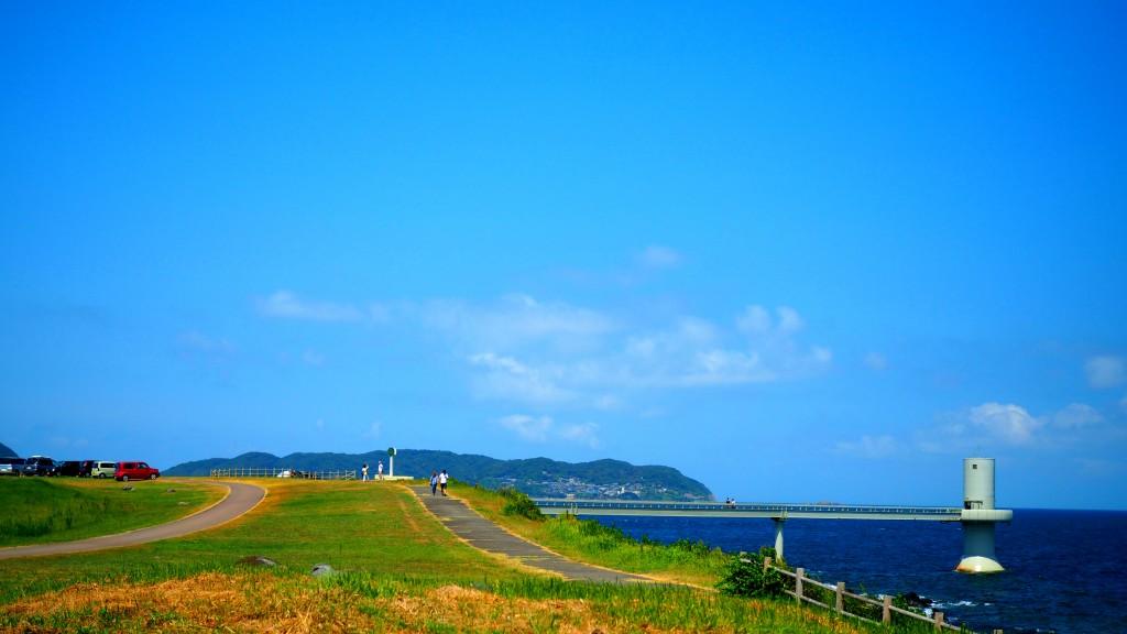 波戸岬の玄海海中展望塔