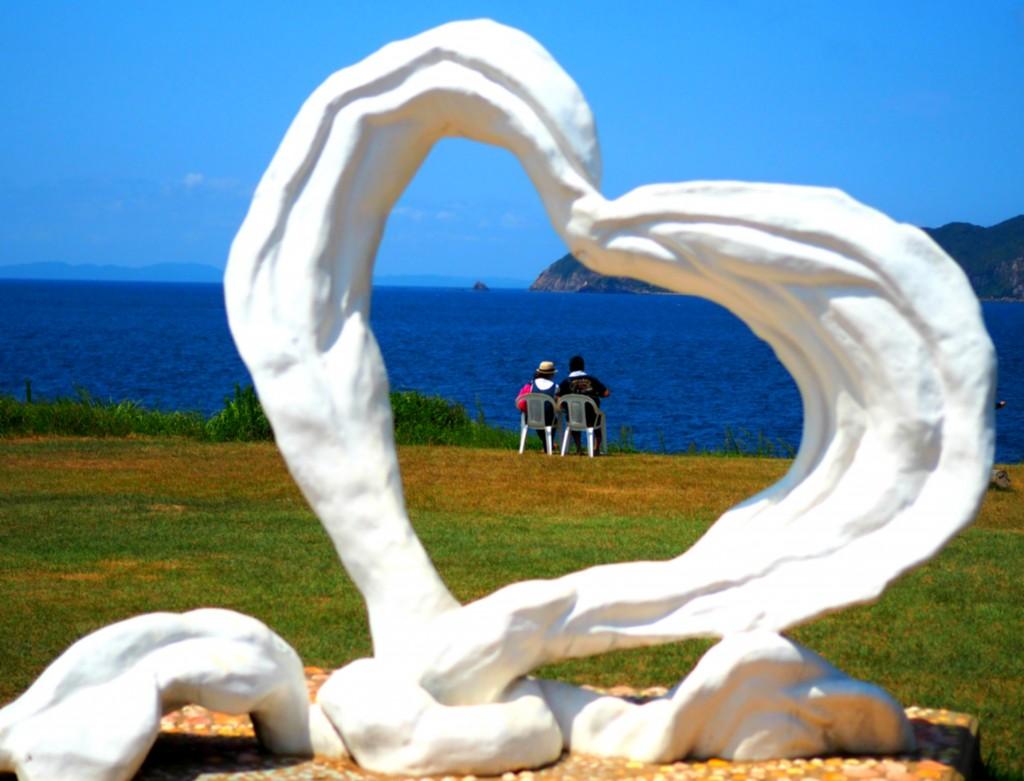 恋人の聖地 ハート岬