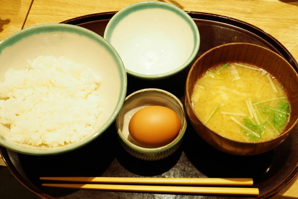 うちのたまごの朝ご飯