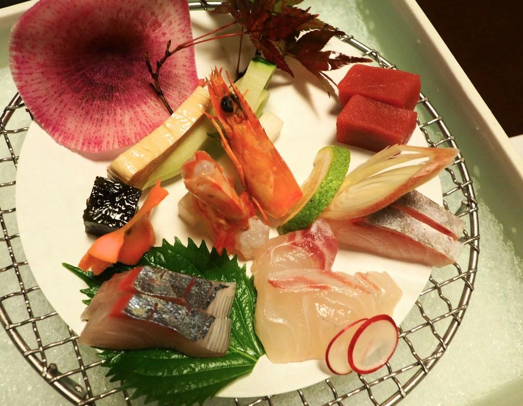 清海の夕食