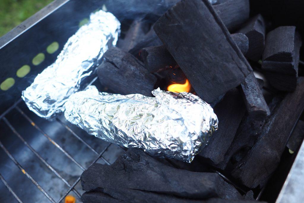 焼き芋もセット