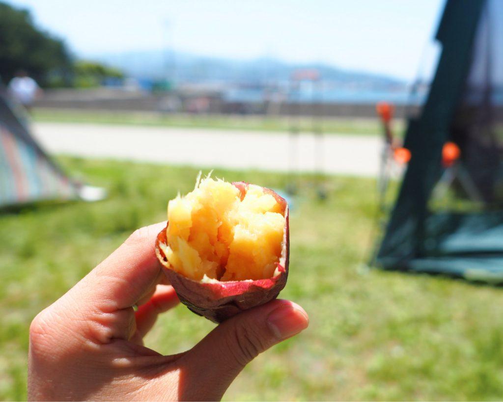 ホクホクの焼き芋