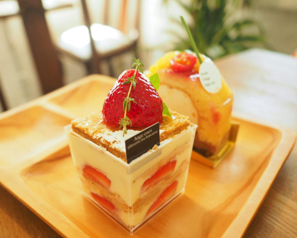 アンジェココのケーキ