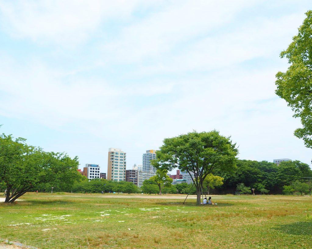 舞鶴公園の西広場