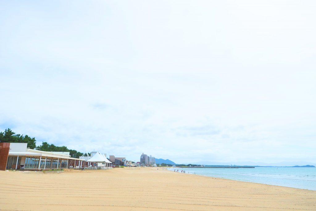 美しい福間海岸