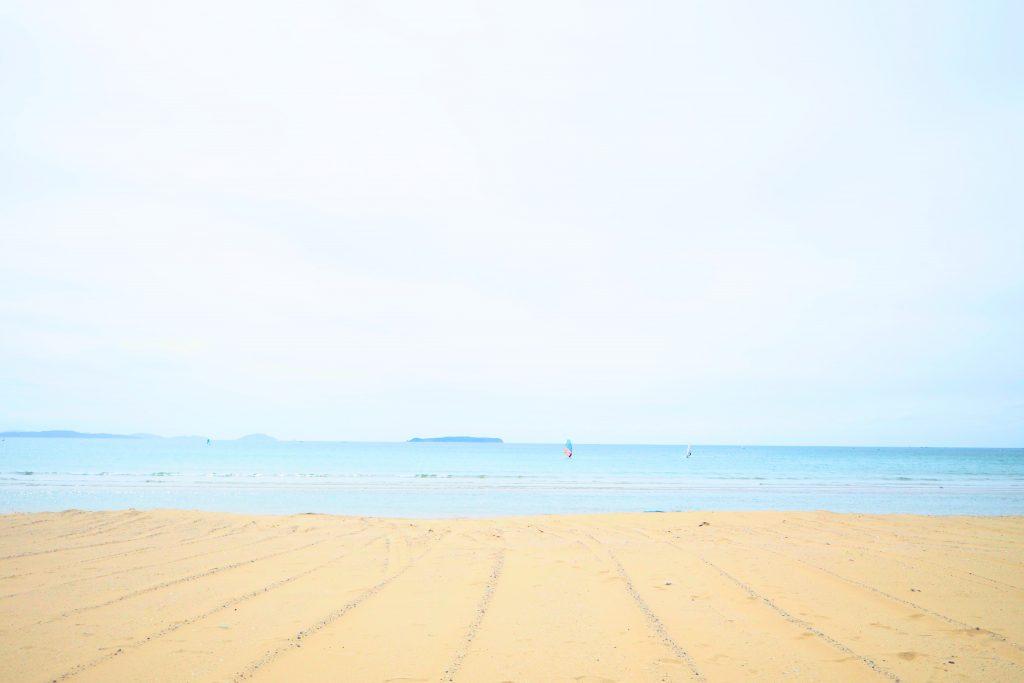 ただただ美しい海