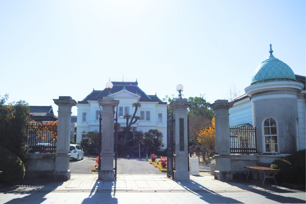旧柳川藩主別邸 御花