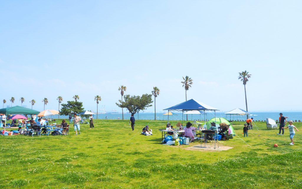 海の中道海浜公園デイキャンプ場