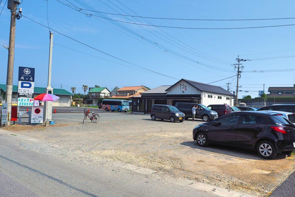 遊覧船の駐車場
