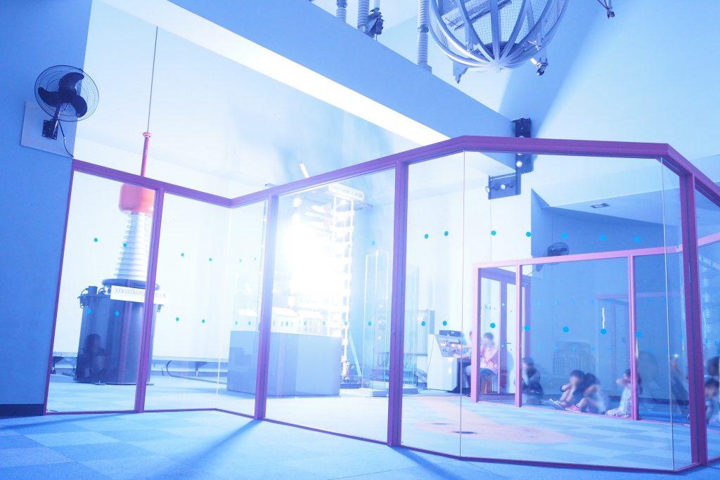 放電実験ショー