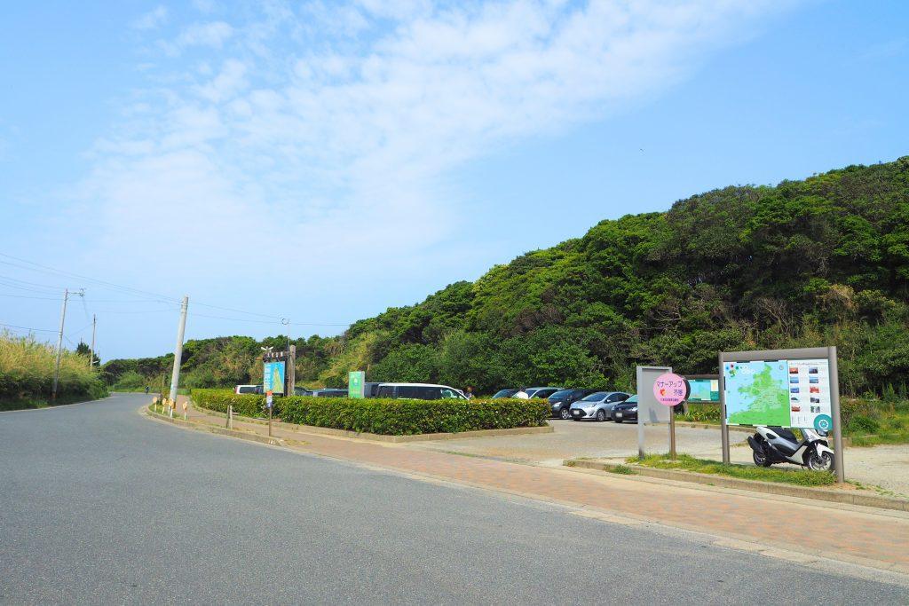芥屋の大門公園 駐車場