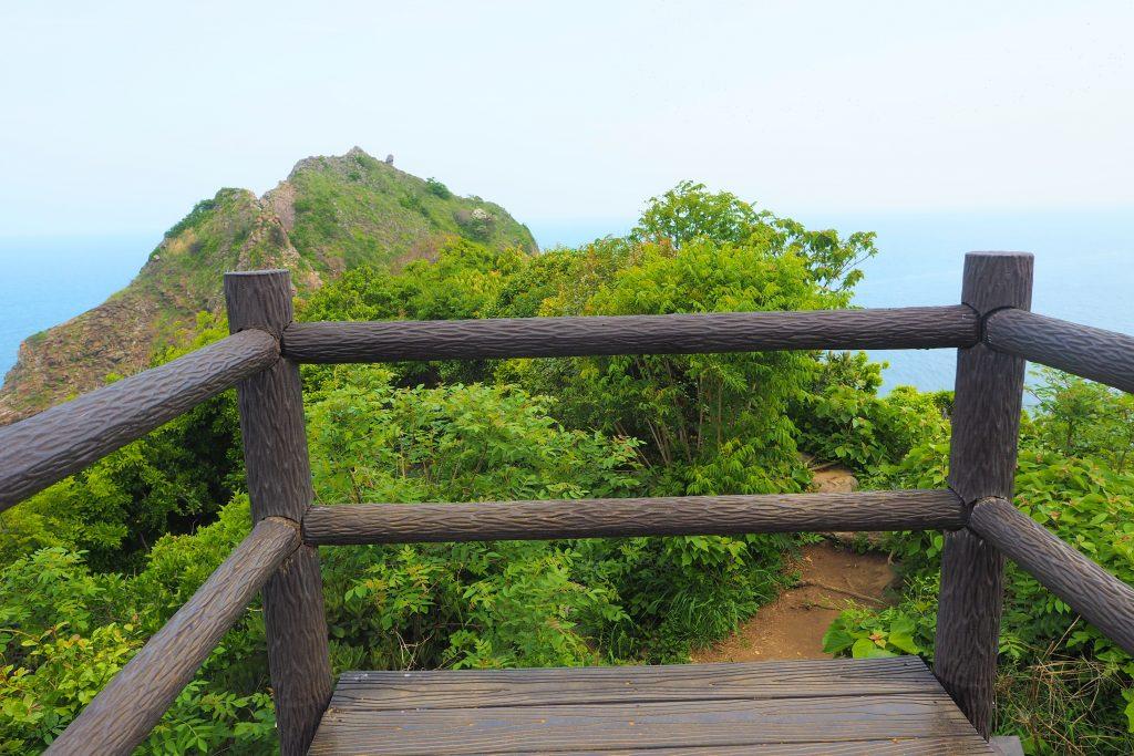 展望所から見た芥屋の大門