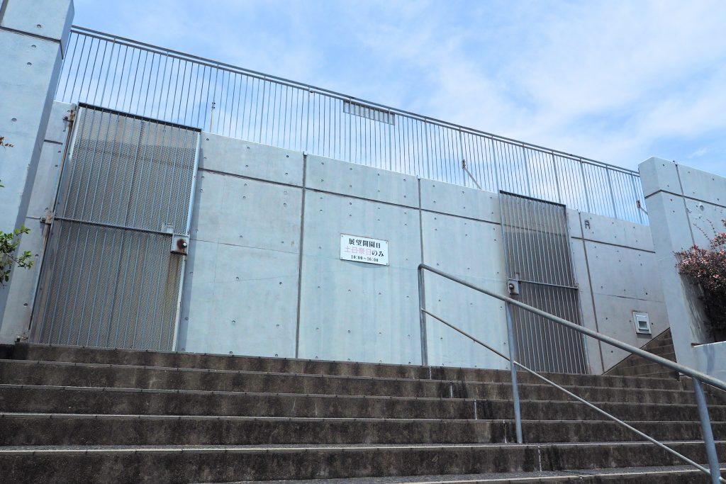 最上階の展望台