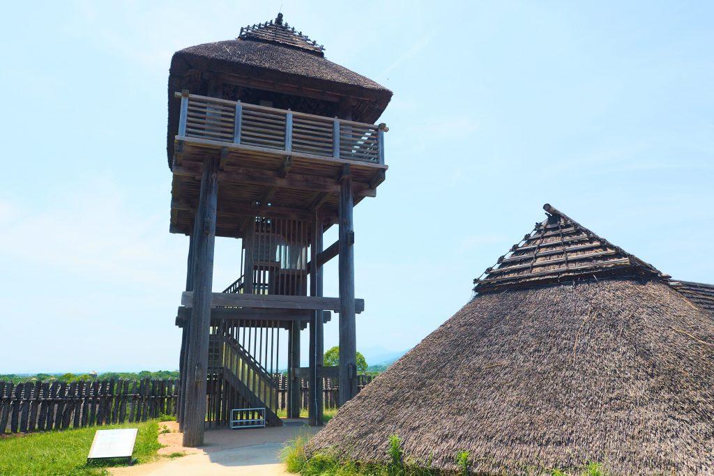 吉野ケ里遺跡の物見櫓
