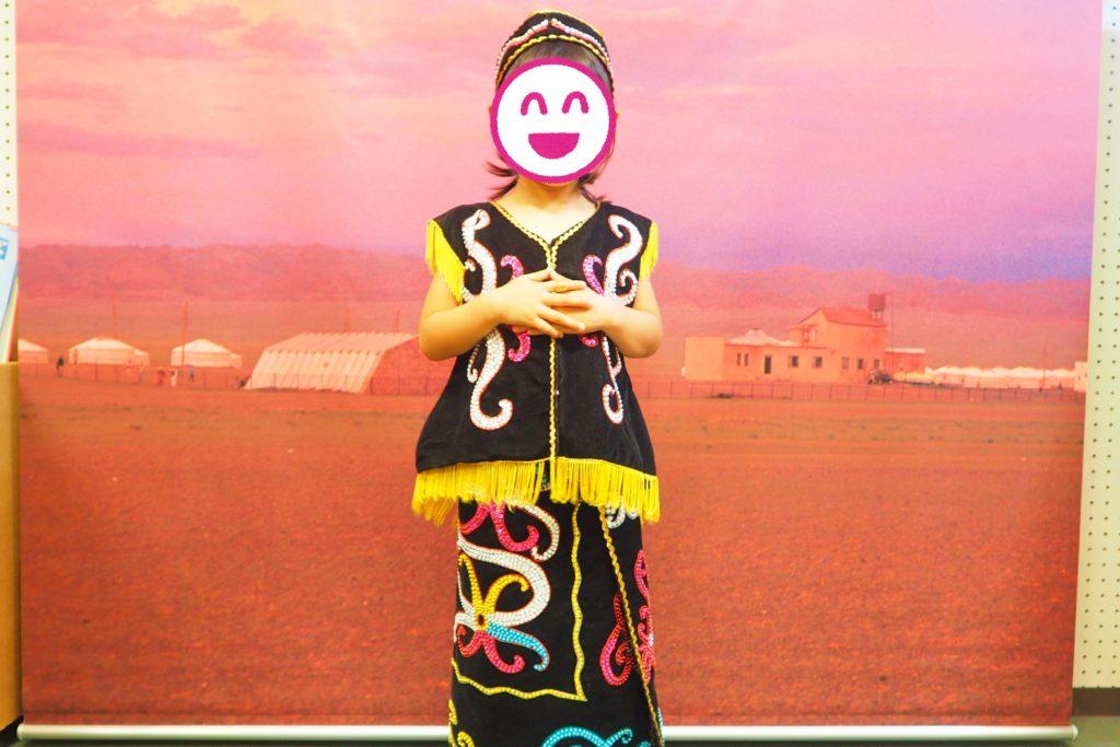 マレーシア カヤン族の衣装