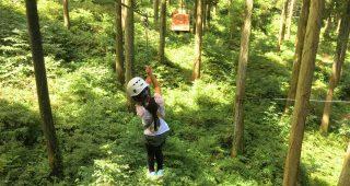 森の中で超本格アスレチック! フォレストアドベンチャー・糸島