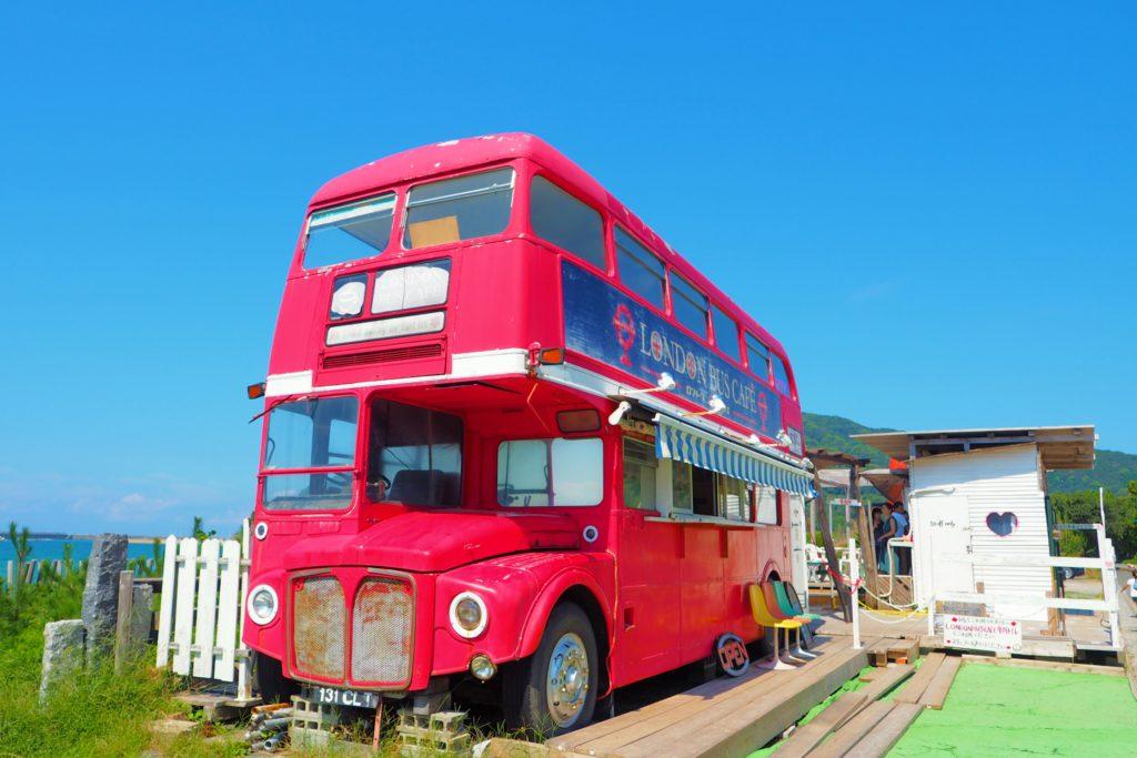 2階建てのロンドンバス
