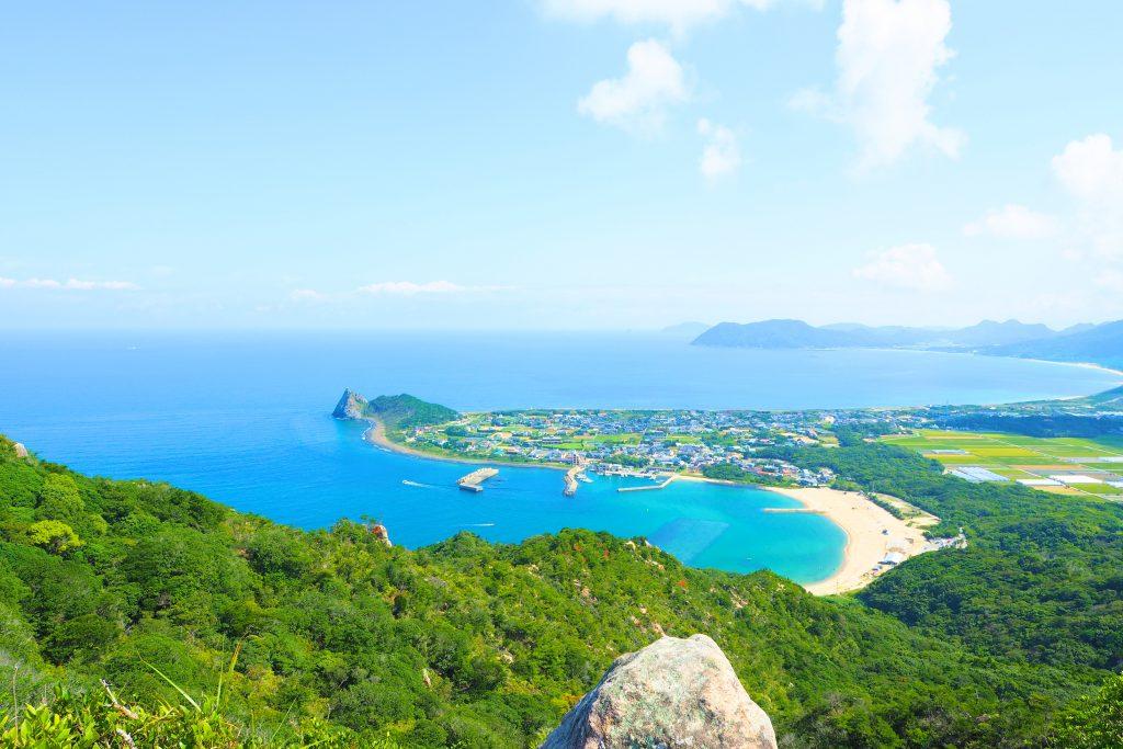 立石山からの眺望