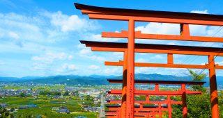 うきはの絶景! 91基の鳥居が連なる「浮羽稲荷神社」