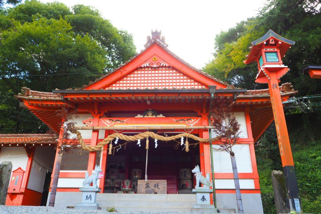 浮羽稲荷神社の社殿
