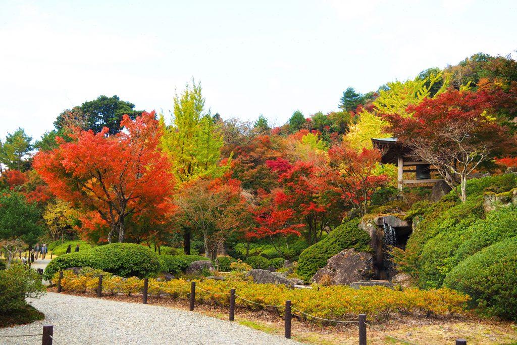 英彦山大権現の庭園