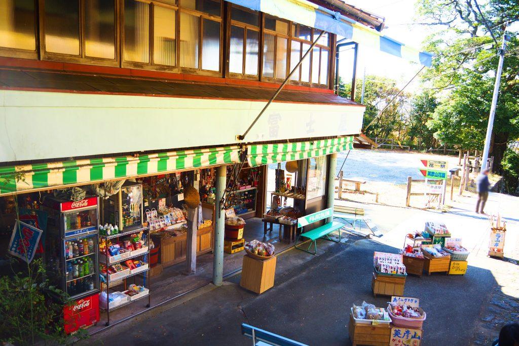 参道の売店