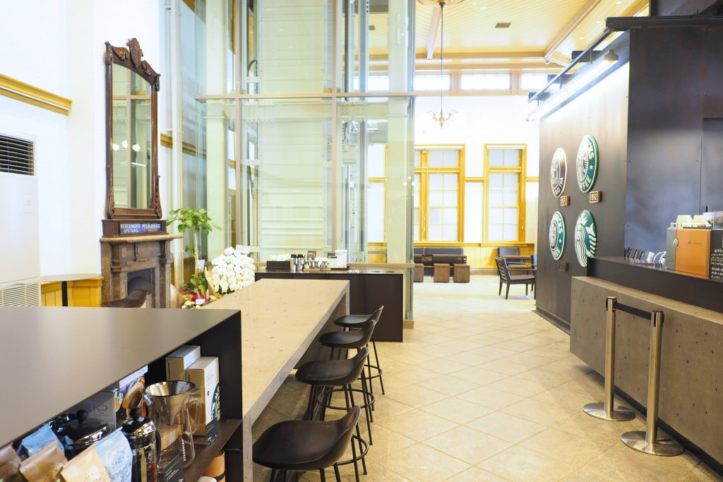 スターバックス コーヒー 門司港駅店