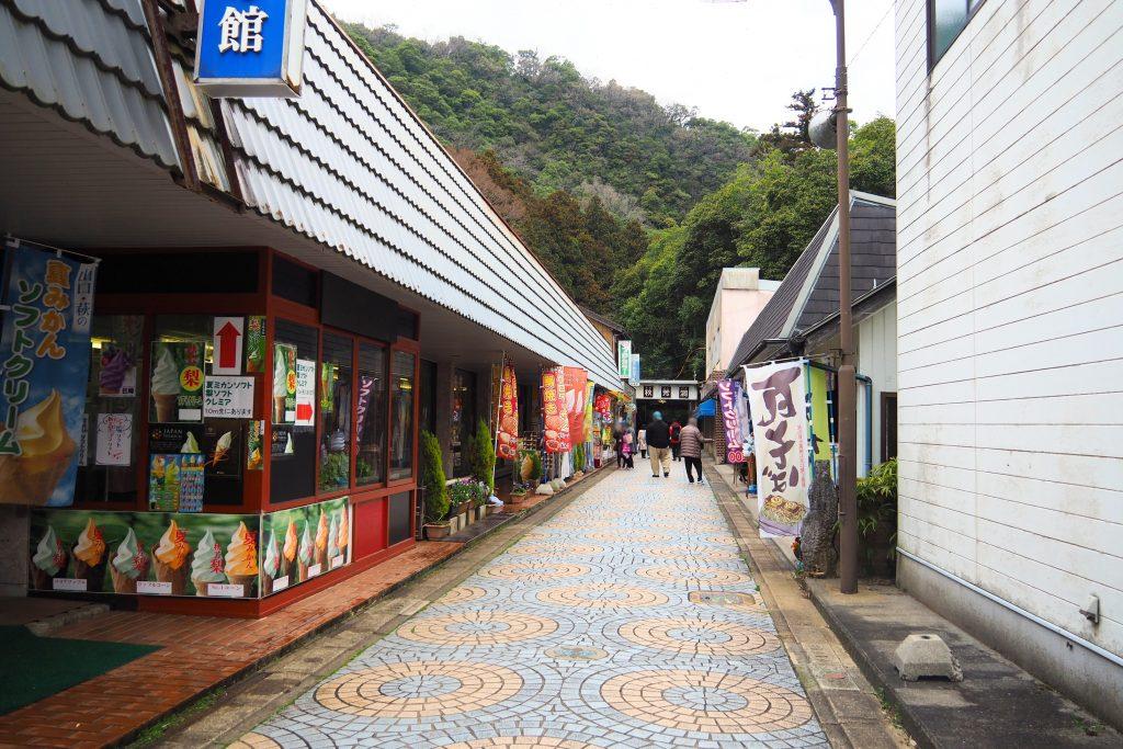 秋芳洞商店街