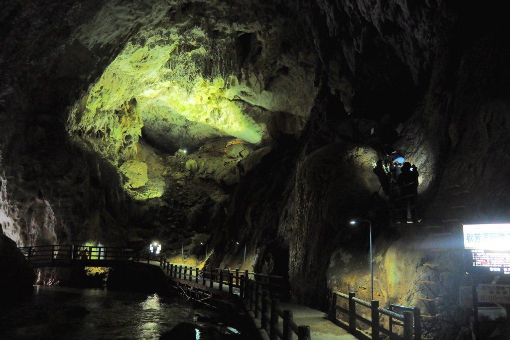 秋芳洞 冒険コース