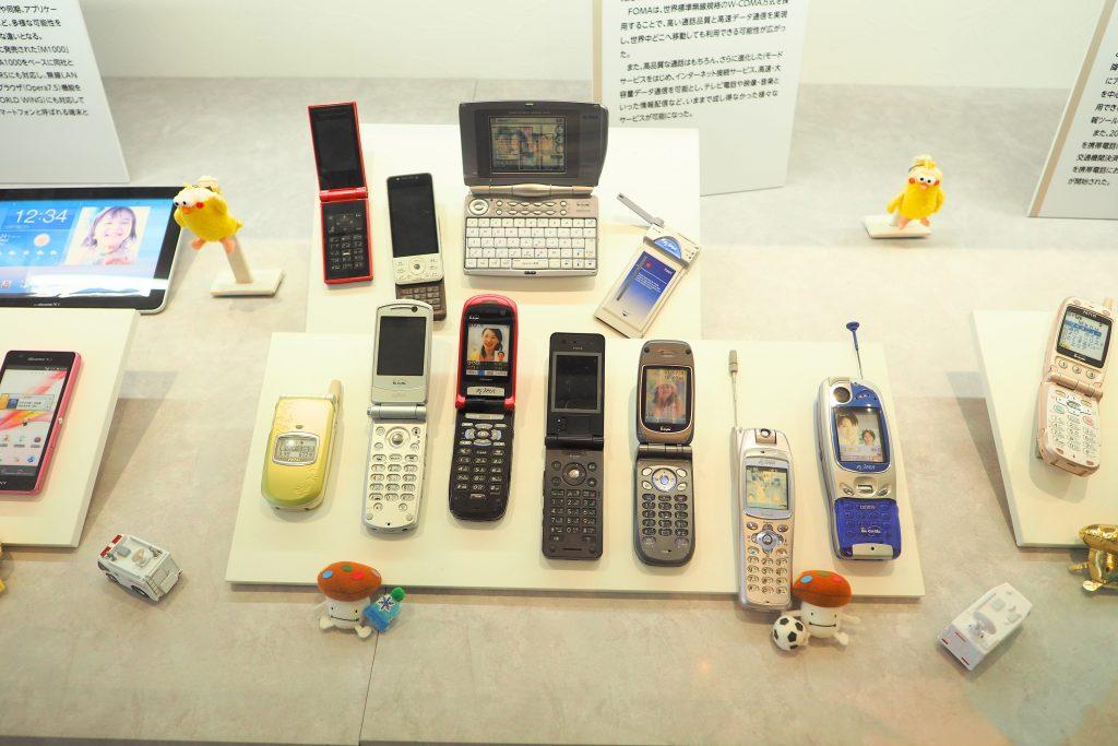 懐かしい携帯電話