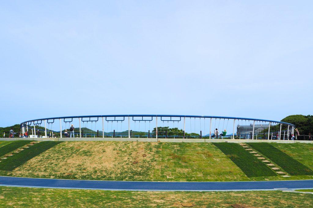 グリーンパークの世界最長ブランコ