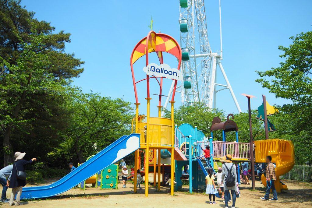 到津の森公園の子ども広場