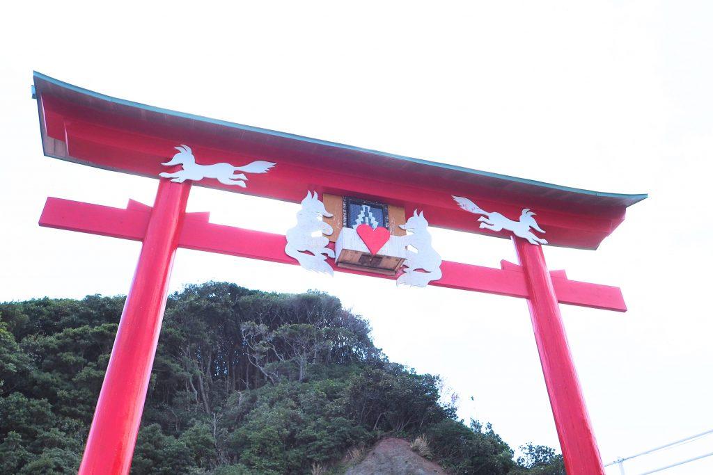 日本一入れにくい賽銭箱