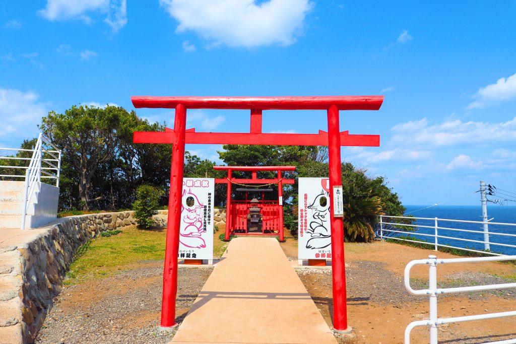 ご利益の多い元乃隅神社