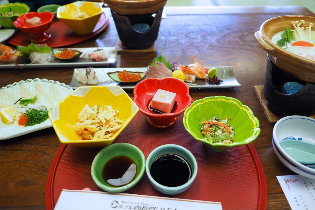 西長門リゾートの食事