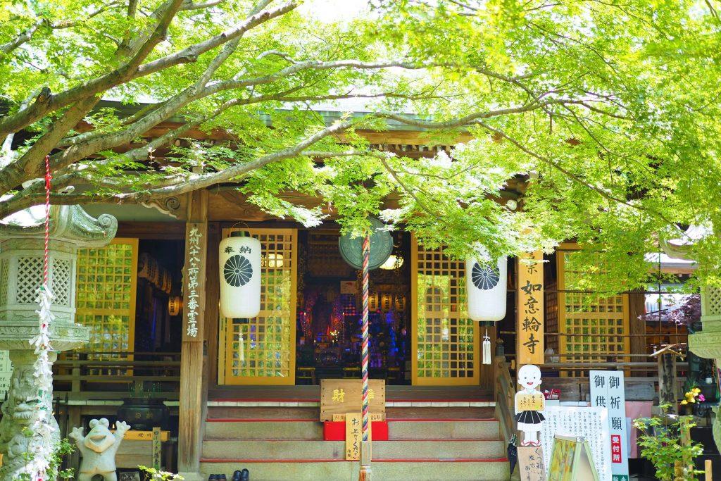 如意輪寺・かえる寺の本殿